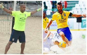 Capixabas Mão e Bruno Xavier são pré-convocados para seleção brasileira