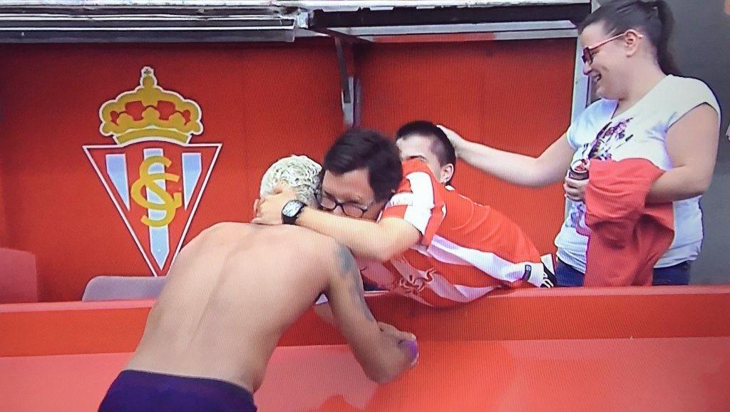 Neymar leva torcedor ao choro na Espanha (Foto: reprodução/instagram)