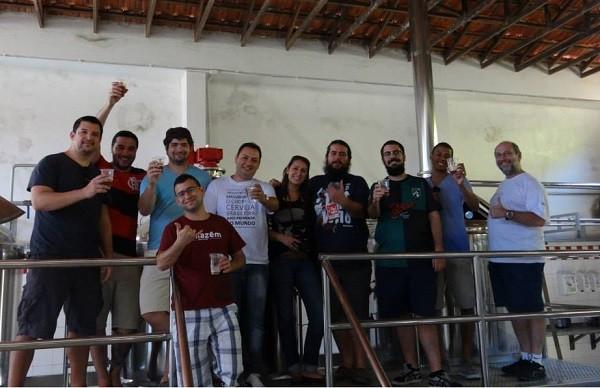 Visita à cervejaria Röter, em Barra do Piraí