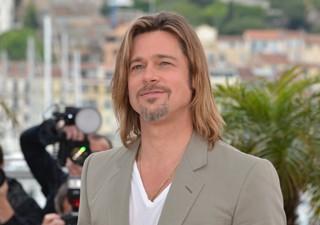 O ator Brad Pitt no Festival de Cannes (Foto: Alberto Pizzoli/AFP)