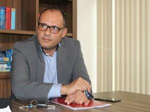 Advogado fala sobre suspeita de extorsão (Foto: Priscilla dos Santos/ G1 MS)
