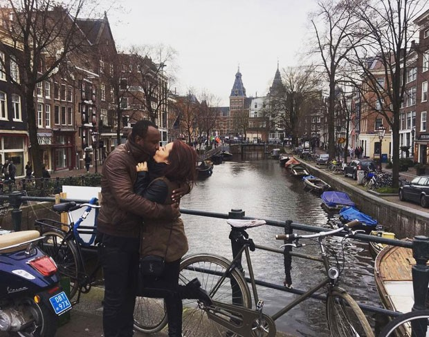 Thiaguinho e Fernanda: romance em Amsterdam (Foto: Reprodução Instagram)