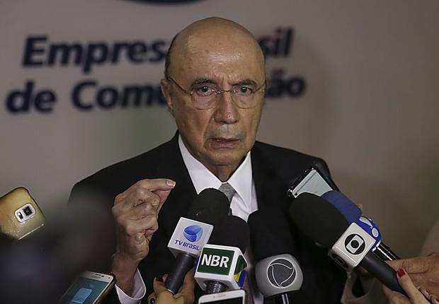 O ministro da Fazenda, Henrique Meirelles (Foto: José Cruz/Agência Brasil)