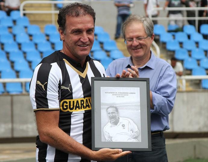 Cuca Botafogo x Shandong Luneng (Foto: Vitor Silva / SSPress)