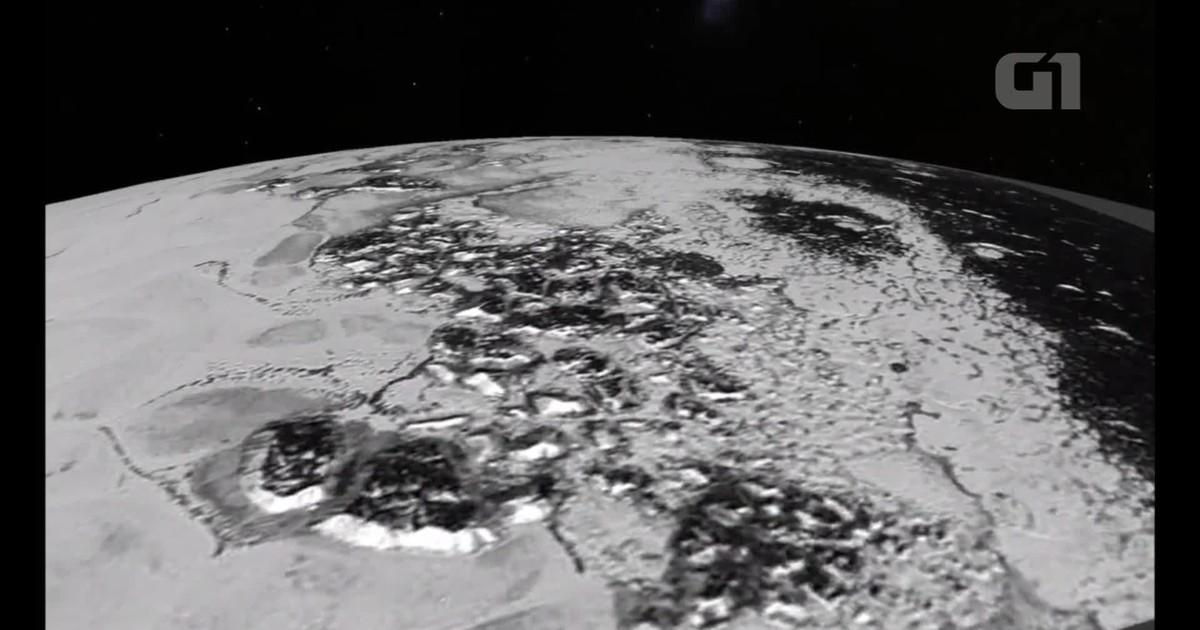 Nasa divulga imagem inédita da atmosfera de Plutão