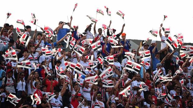 Torcida São Paulo x Fluminense (Foto: Marcos Ribolli / Globoesporte.com)