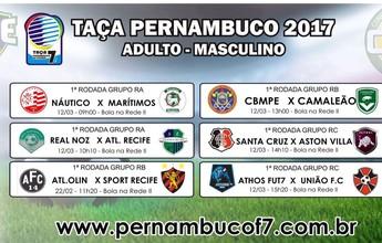 Taça Pernambuco de Futebol 7 terá Caruaru City, Náutico, Santa e Sport