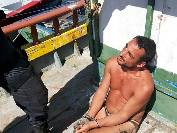 argentino detido cabo frio (Foto: Renata Cristinae/Arquivo pessoal)