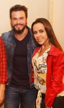 Sidney Sampaio e Adriane Furlen (Foto: Vitor Zorzal/WB Produções)