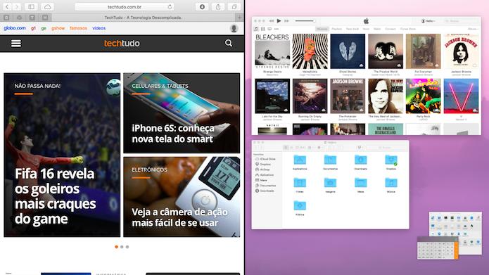 Clique sobre o aplicativo para adicioná-lo à outra lateral (Foto: Reprodução/Helito Bijora)