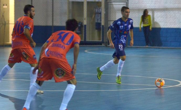 Dieguinho Taubaté Futsal x Bauru (Foto: Jonas Barbetta/Top10 Comunicação)