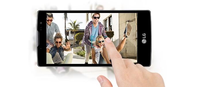 LG G4 Beat traz processador octa-core e 8 GB de armazenamento (Foto: Divulgação/LG)