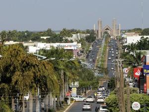 Lucas do Rio Verde é a cidade que mais cresceu nos últimos 13 anos (Foto: Josi Petengill/ Secom-MT)