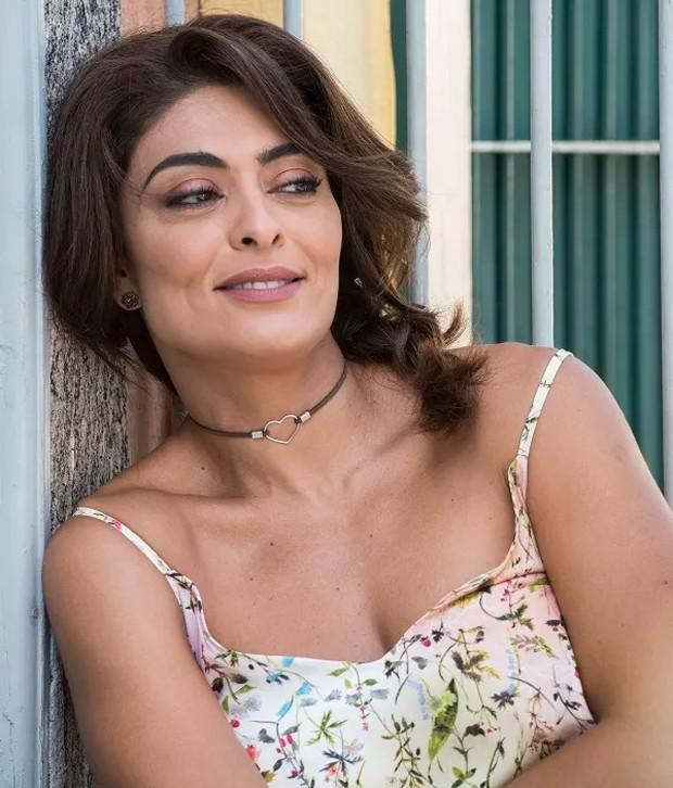 Juliana Paes na pele de Bibi (Foto: Divulgação)