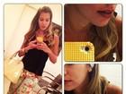 Ex-BBB Adriana posta foto sem maquiagem e mostra imperfeições