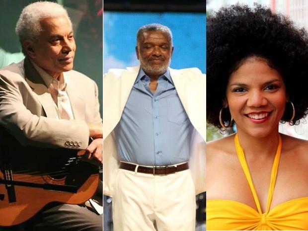 Show terá Paulinho da Viola, Nelson Rufino, Juliana Ribeiro e outros (Foto: Arte/G1)