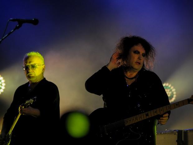 Formação atual conta com cinco músicos (Foto: Flávio Moraes/G1)
