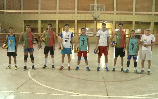Time de vôlei do Acre entra na reta final de preparação para o Campeonato Brasileiro Juvenil (Foto: Globo Esporte Acre)