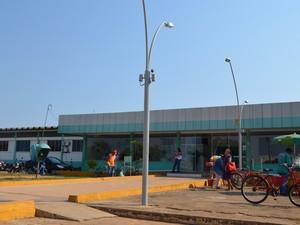 Hospital Regional de Vilhena (Foto: Aline Lopes/G1)