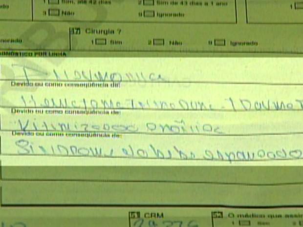 Laudo do IML aponta que Kamilly foi espancada antes de morrer (Foto: Reprodução/EPTV)