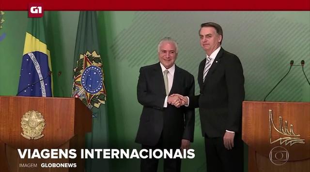 G1 em 1 Minuto:Temer diz que convidou Bolsonaro para viagens internacionais antes da posse