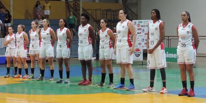 Venceslau x Americana - Campeonato Paulista de Basquete Série A-1 Feminina (Foto: João Paulo Tilio / GloboEsporte.com)