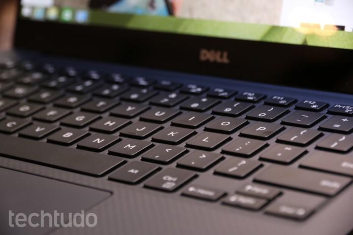 teclado dell xps 13 (Foto: Raíssa Delphim/TechTudo)