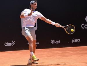 Rafael Nadal Rio Open treino (Foto: Agência Estado)