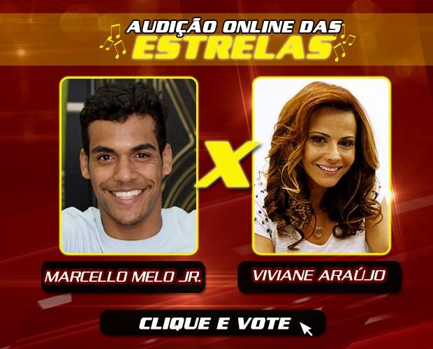 Marcello Melo Jr. x Viviane Araújo (Foto: Gshow)