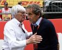 """Bernie elege Prost o maior da história: """"Melhor que Senna e Schumacher"""""""