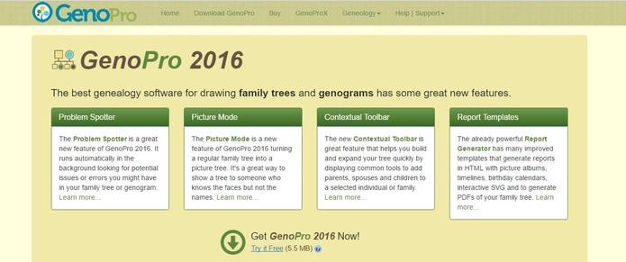 App permite que usuário faça árvore genealógica (Foto: Reprodução/Camila Peres)