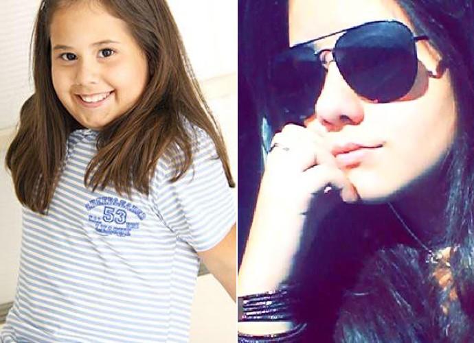 Antes e depois de Ana Karolina Lannes (Foto: Arquivo pessoal)