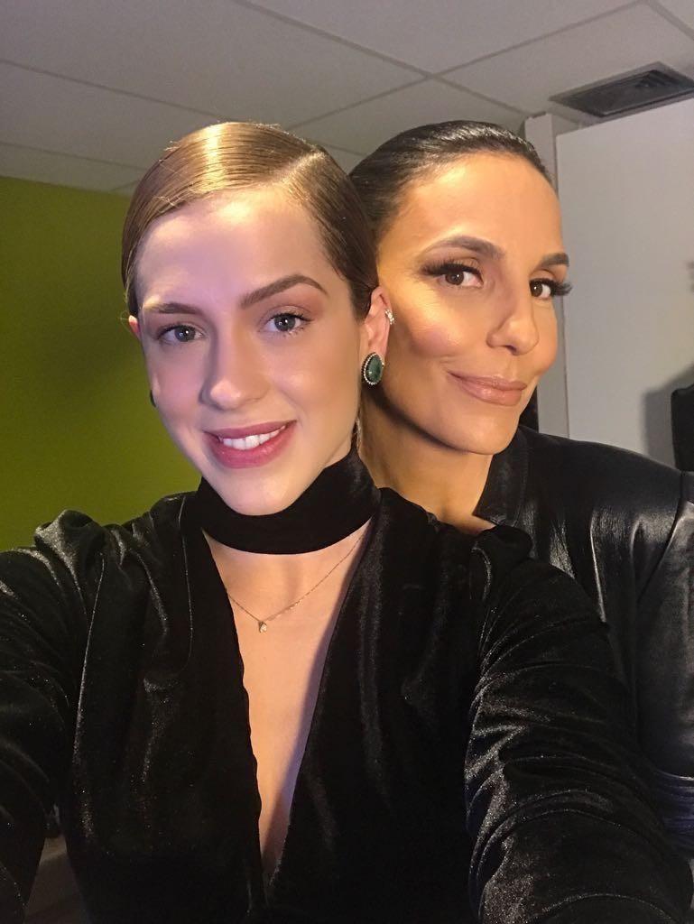 Sophia Abrahão e Ivete Sangalo (Foto: Divulgação)