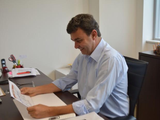 Nilson Gaspar vai assumir a Prefeitura de Indaiatuba a partir de 1º de janeiro (Foto: Marcello Carvalho/G1)