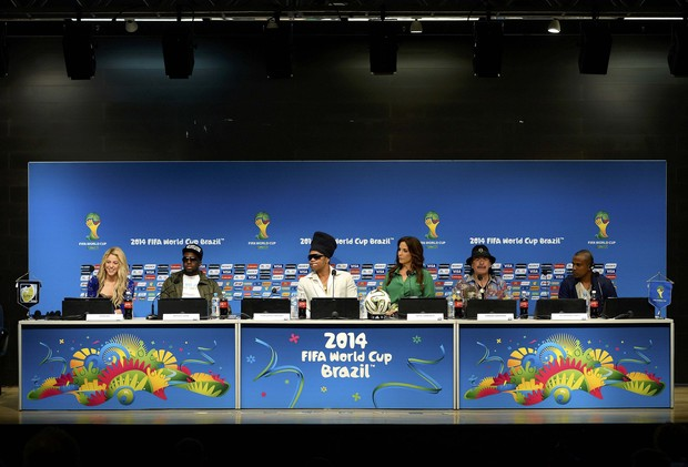 Coletiva de imprensa da final da Copa do Mundo (Foto: REUTERS/Dylan Martinez )