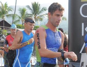 triatleta Hugo Amaral Juiz de Fora Ironman Havaí 2016 triatlo (Foto: Hugo Amaral/Arquivo Pessoal)