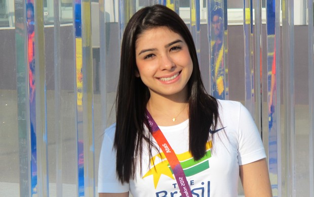 Bruna Leal Vila Olímpica Londres (Foto: Danielle Rocha / Globoesporte.com)