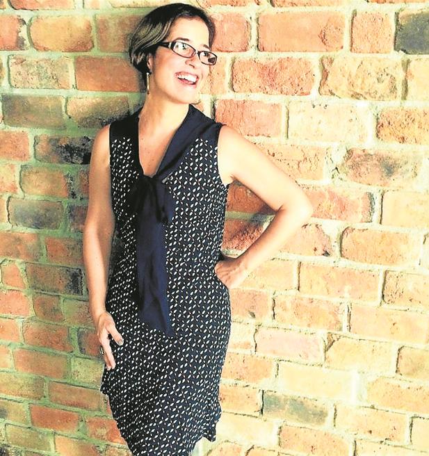 Paloma Duarte de visual novo para aa montagem de 'Grande Sertão: Veredas' (Foto: Arquivo pessoal)