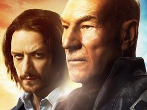 James McAvoy e Patrick Stewart em pôster de 'X-Men: Dias de um futuro esquecido' (Foto: Divulgação)