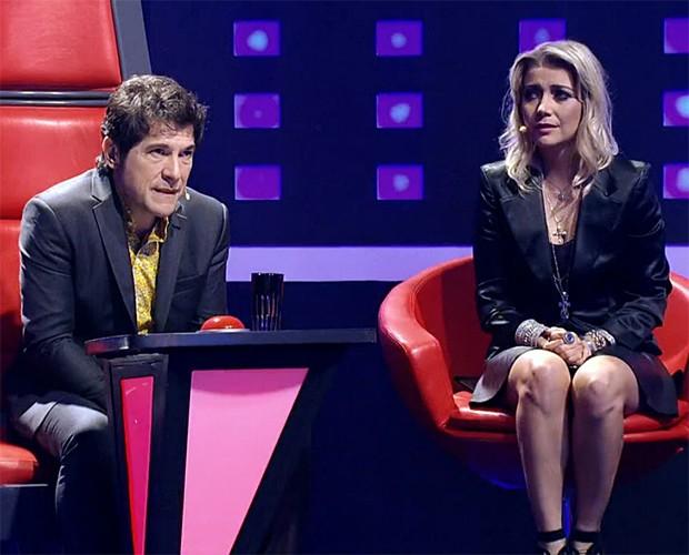 Daniel Luiza Possi (Foto: TV Globo)