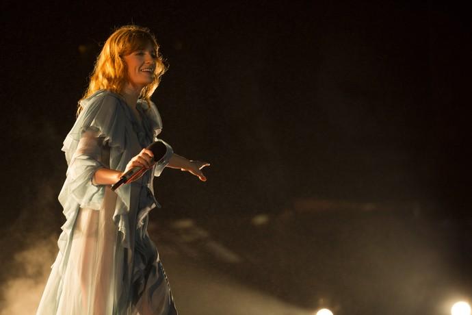 Florence and The Machine no Lollapalooza (Foto: Raphael Dias/Gshow)