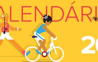 Novo calendário Eu Atleta está no ar para você programar o ano esportivo