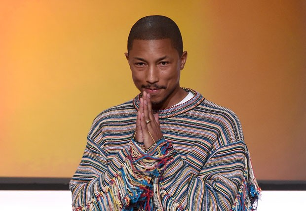 Pharrell Williams: estamos esperando o seu creme anti-idade (Foto: Getty Images)