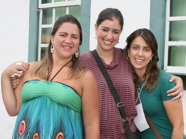 Cybelle Bretas, de 29 anos, tem empresa sociedade com as duas irmãs em Goiás (Foto: Rogério Porto/Divulgação)