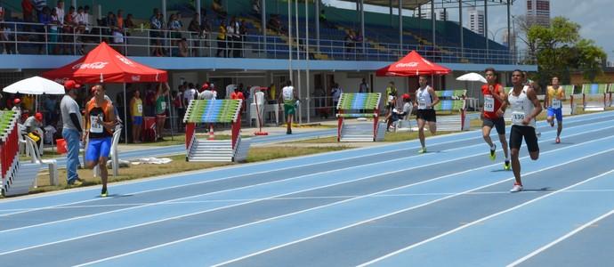 Dayvisson Deluan, único representate de Roraima nos Jogos Escolares da Juventude, em João Pessoa (Foto: Larissa Keren / GloboEsporte.com/pb)