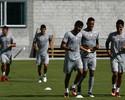 Recuperado, William Matheus volta a treinar com bola no CT Pedro Antônio