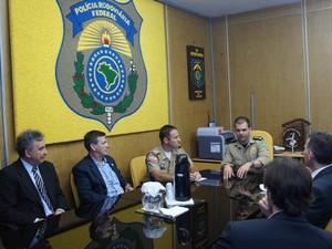 Operação também atua em frente marítima e nos aeroportos (Foto: Polícia Civil/Divulgação)