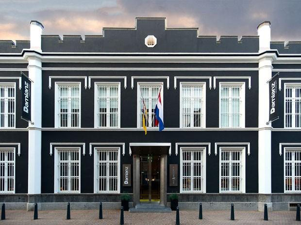 Het Arresthuis, hotel que fica dentro de uma antiga prisão na Holanda (Foto: Divulgação/Het Arresthuis)