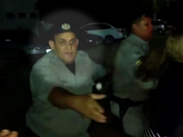 Soldado Hélio Bezerra de Souza morre por complicações em cirurgia após ser baleado Goiás Itacaiú Britânia (Foto: Reprodução/TV Anhanguera)