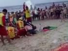 Homem resgatado por guarda-vidas em Matinhos não resiste e morre